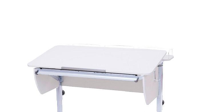 Астек Приставка фронтальная для Твин/Твин-2 и Моно/Моно-2 1150х250 (белая)Приставка фронтальная для Твин/Твин-2 и Моно/Моно-2 1150х250 (белая)Астек Приставка фронтальная для Твин/Твин-2 и Моно/Моно-2 1150х250 (белая)создана для установки монитора и других необходимых предметов располагающихся горизонтально. Если Ваш ребенок пока не пользуется компьютером, то в ближайшем будущем приставка ему обязательно пригодится. Поэтому мы рекомендуем покупать её сразу. Вы в любое время сможете снять приставку или установить обратно.  Особенности: Подходит для парт ТВИН/ТВИН-2 и МОНО/МОНО-2; Глубина парты с приставкой 85 см; 4 цвета ЛДСП и 5 цветов металлокаркаса; В комплект входит ограничители для полок;<br>