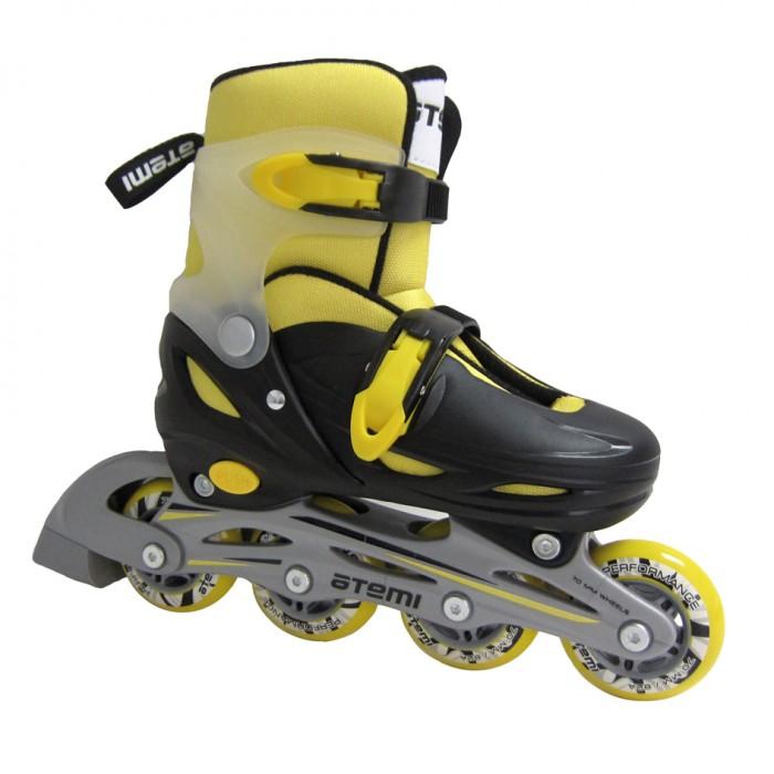 Купить Детские ролики Atemi раздвижные AJIS-12.05 Neon hard boot