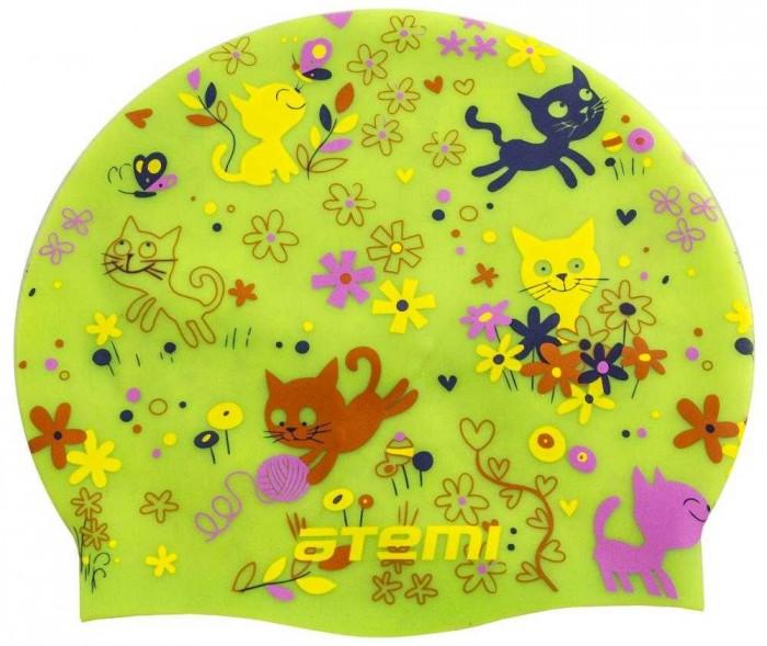 Аксессуары для плавания Atemi Шапочка детская для плавания Котята