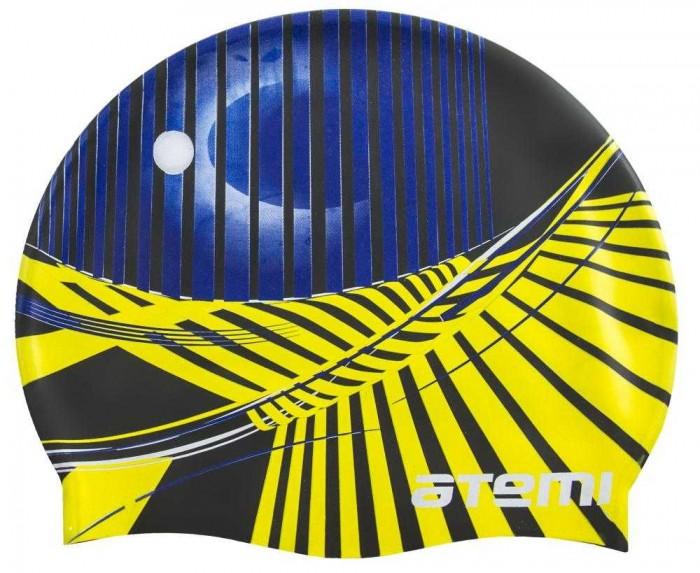 Аксессуары для плавания Atemi Шапочка для плавания Графика PSC422