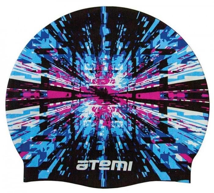 Аксессуары для плавания Atemi Шапочка для плавания Графика PSC423