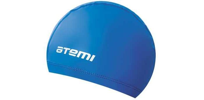 шапочки для плавания adidas sil cap dq1736 желтый Аксессуары для плавания Atemi Шапочка для плавания из ткани с полиуретановым покрытием