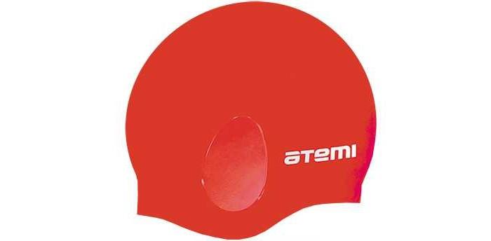 Аксессуары для плавания Atemi Шапочка для плавания с ушами EC10