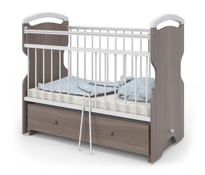 Купить Детские кроватки, Детская кроватка Атон Elsa маятник поперечный