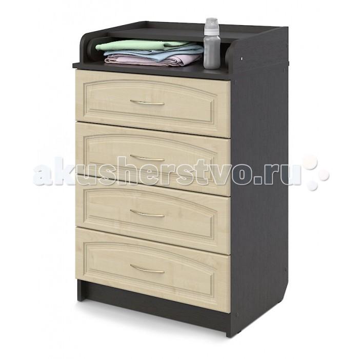 Комоды Атон М (Орион) ПВХ 60/4 пеленальный (4 ящика) пеленальный комод атон мебель кр80 4 пвх клен