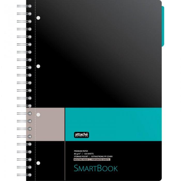 Купить Тетради, Attache Бизнес-тетрадь SmartBook клетка А4 120 листов