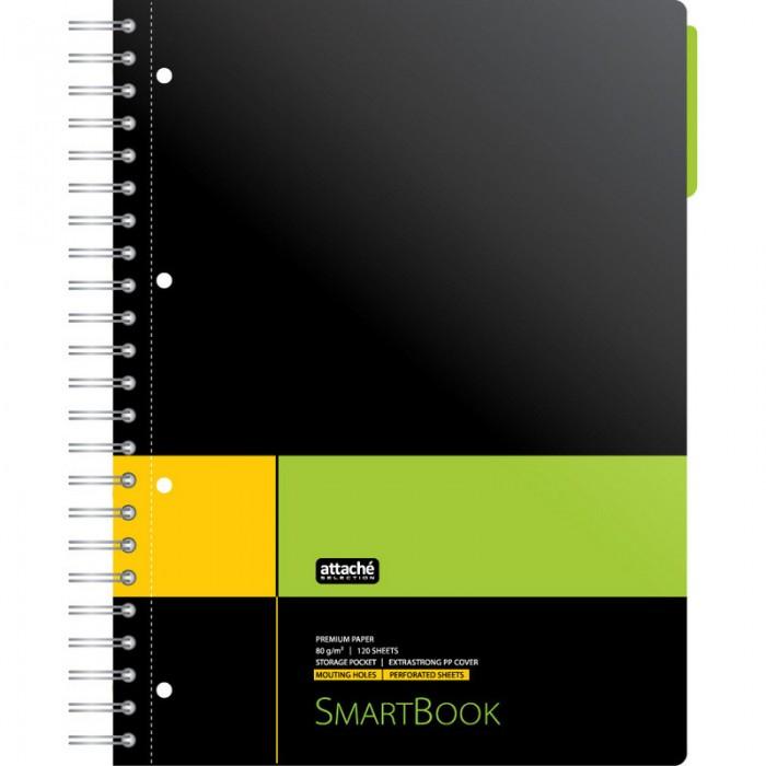 Купить Тетради, Attache Бизнес-тетрадь SmartBook линейка А4 120 листов