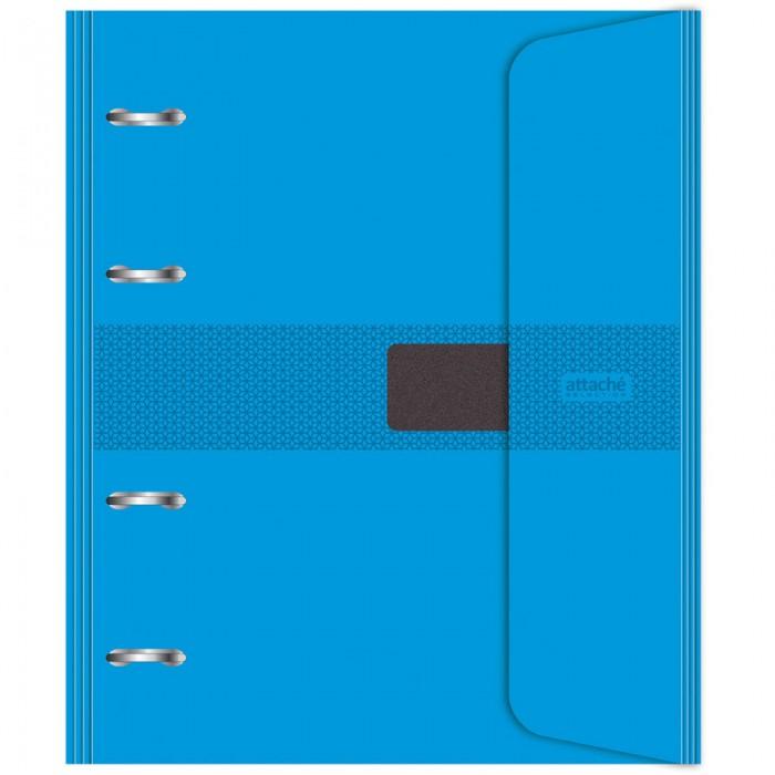 Купить Тетради, Attache Бизнес-тетрадь со сменым блоком на липучке А5 120 листов