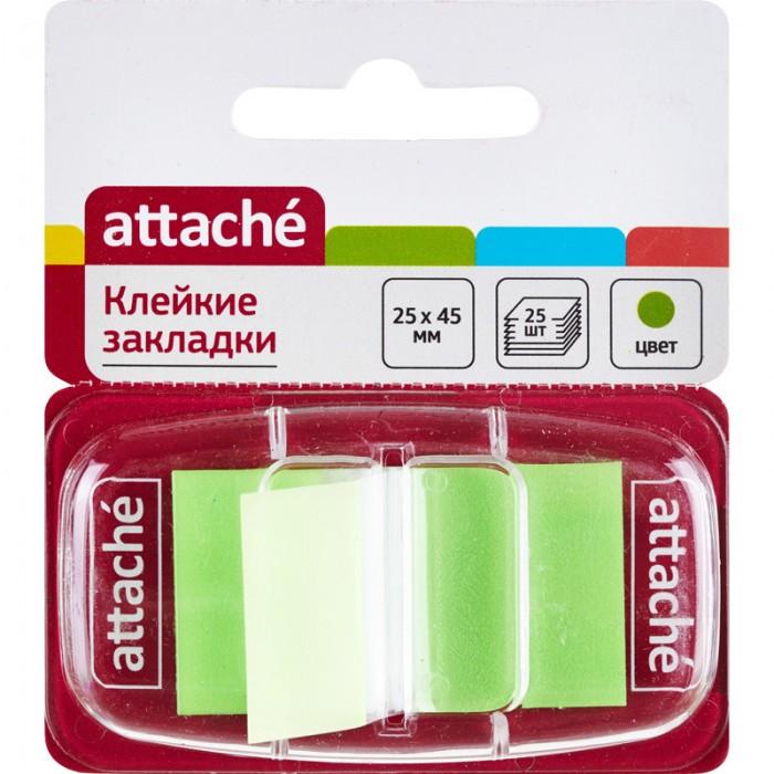 закладки клейкие staff 45х12 мм х 3 цвета 45х25 мм х 1 цвет по 25 листов код 1с Канцелярия Attache Клейкие закладки 25х45 мм 25 листов