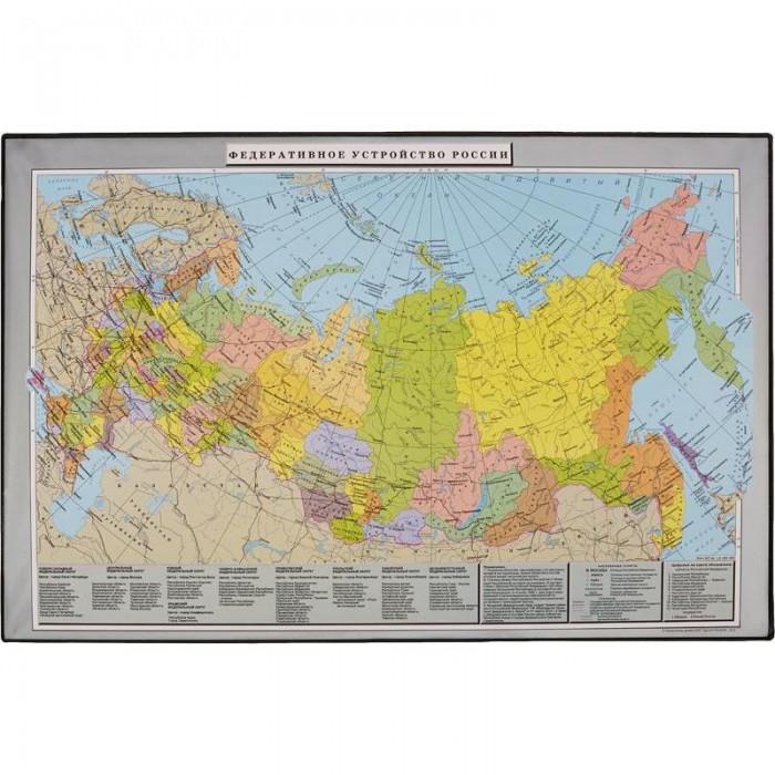 Канцелярия Attache Коврик на стол Россия и сопредельные государства 38х59 см