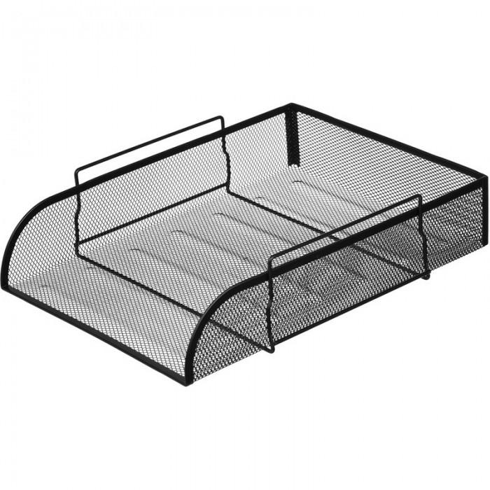 Канцелярия Attache Лоток для бумаг горизонтальный 83 мм лоток для бумаг sponsor вертикально горизонтальный семисекционный черный st905 7