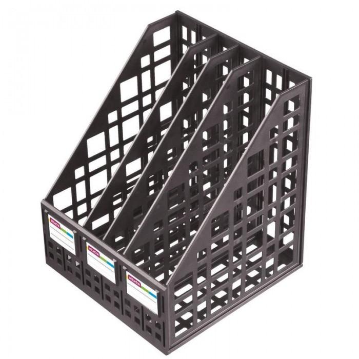 Купить Канцелярия, Attache Лоток для бумаг сборный вертикальный 4 отделения 240 мм