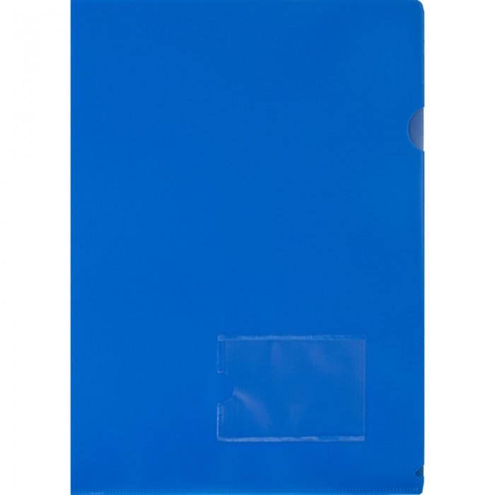 Канцелярия Attache Папка-уголок с карманом для визитки А4 180 мкм