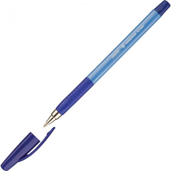 Канцелярия Attache Ручка шариковая Antibacterial А05 масляная 0.5 мм