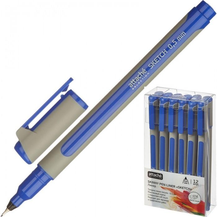 Канцелярия Attache Selection Линер Sketch корпус soft touch 0.5 мм