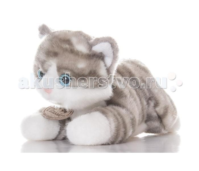 Мягкие игрушки Aurora Котик 22 см мягкие игрушки unimax детки бабочки бело сиреневые 17 см