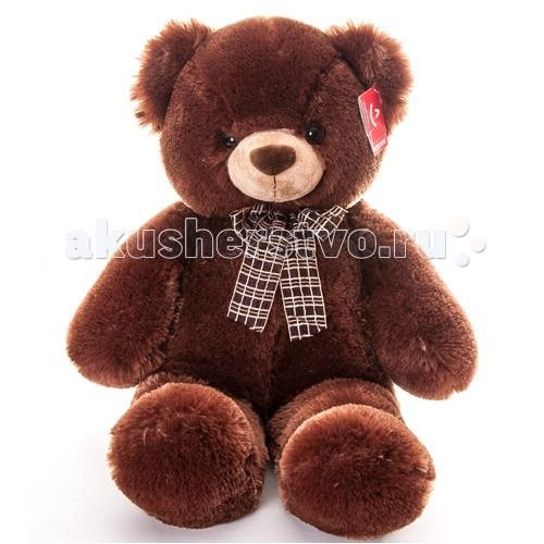 Мягкая игрушка Aurora Медведь с бантом 69 смМедведь с бантом 69 смМягкая игрушка Aurora Медведь с бантом 69 см  Классический медведь коричневого цвета.  Игрушка изготовлена из экологически чистых материалов: высококачественного плюшa и гипoaллepгeнного cинтепoна.  Не деформируется и не теряет внешний вид при машинной стирке.  Длина игрушки: 69 см<br>