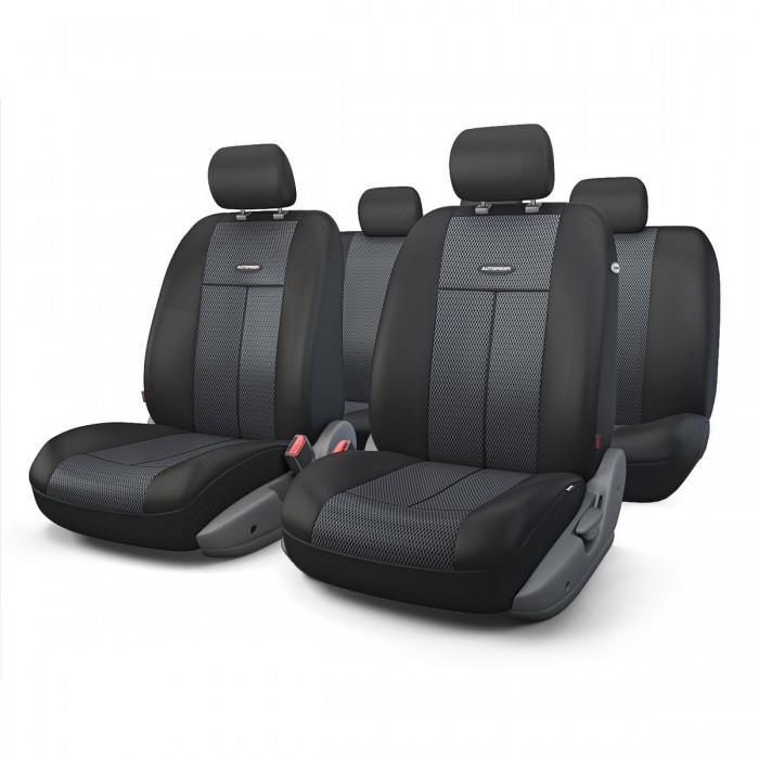 Аксессуары для автомобиля Autoprofi Автомобильные чехлы TT Airbag TT-902M (9 предметов)