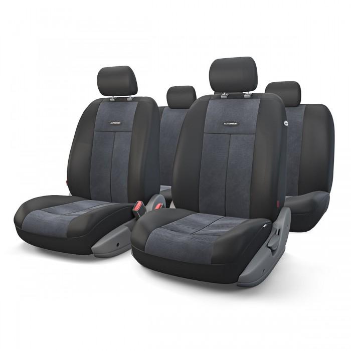 Аксессуары для автомобиля Autoprofi Автомобильные чехлы TT Airbag TT-902V (9 предметов)