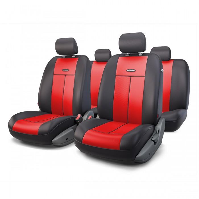Аксессуары для автомобиля Autoprofi Автомобильные чехлы TT Airbag TT-902P (9 предметов)