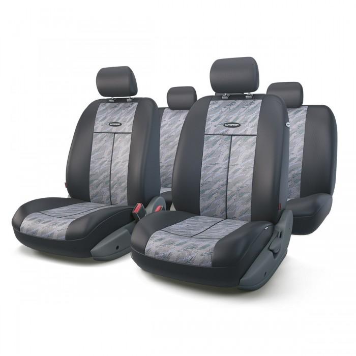 Аксессуары для автомобиля Autoprofi Автомобильные чехлы TT полиэстер/жаккард аксессуары для автомобиля autoprofi автомобильные чехлы tt airbag tt 902m 9 предметов