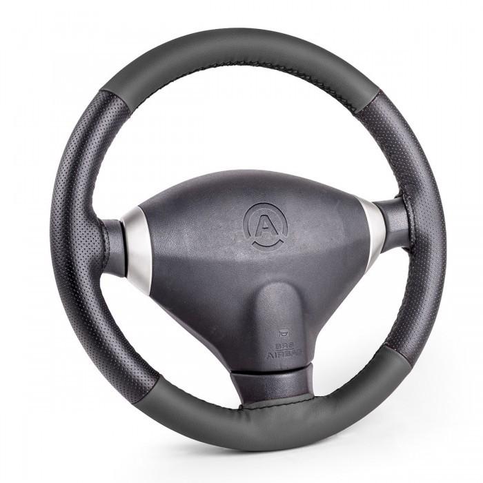 Аксессуары для автомобиля Autoprofi Оплётка для перетяжки руля размер М SAM-100
