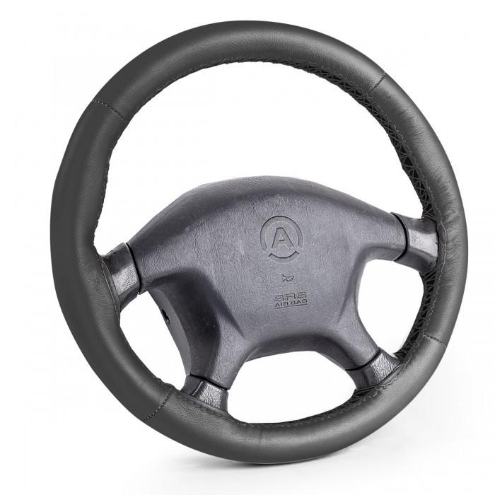 Аксессуары для автомобиля Autoprofi Оплётка для перетяжки руля размер М SAM-200