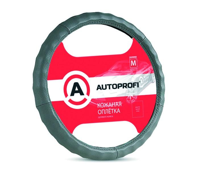 Аксессуары для автомобиля Autoprofi Оплётка руля размер М AP-265