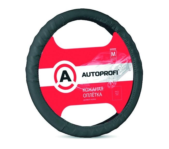Аксессуары для автомобиля Autoprofi Оплётка руля размер М AP-300