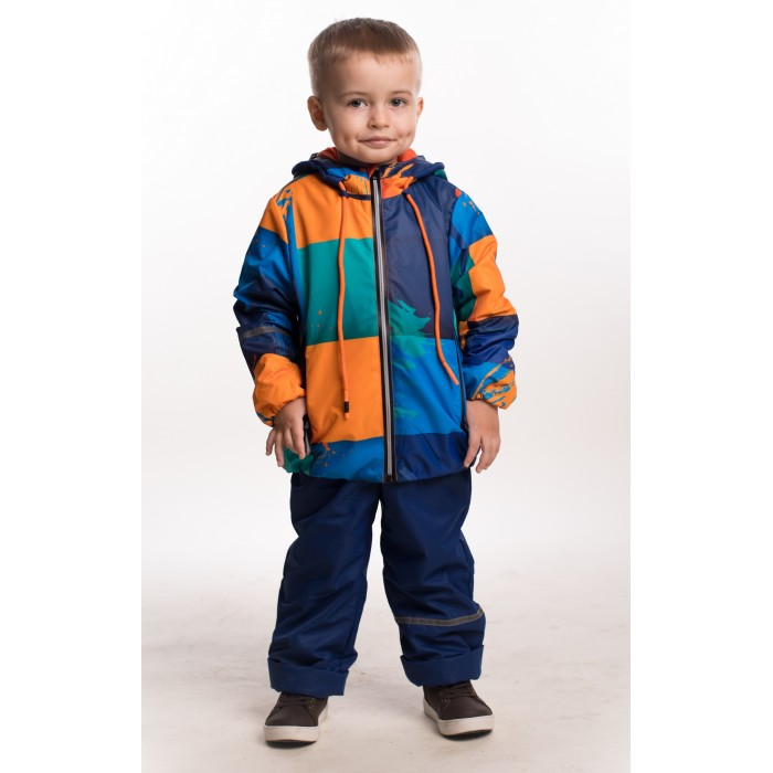 Купить Утеплённые комплекты, Аврора Ветровочный комплект для мальчиков (куртка, полукомбинезон) Энтони 686-М