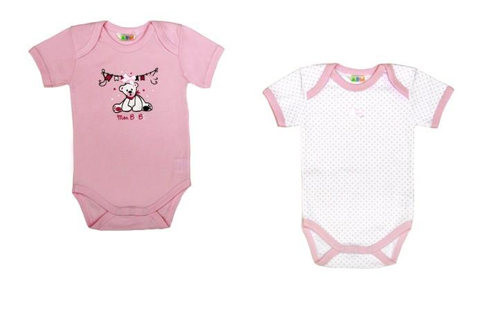 Детская одежда , Боди и песочники Axiome De Mode Боди Нежность 17-8111 2 шт. арт: 445759 -  Боди и песочники