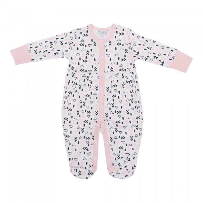 Детская одежда , Комбинезоны и полукомбинезоны Axiome De Mode Комбинезон длинный рукав Пингвины арт: 448409 -  Комбинезоны и полукомбинезоны