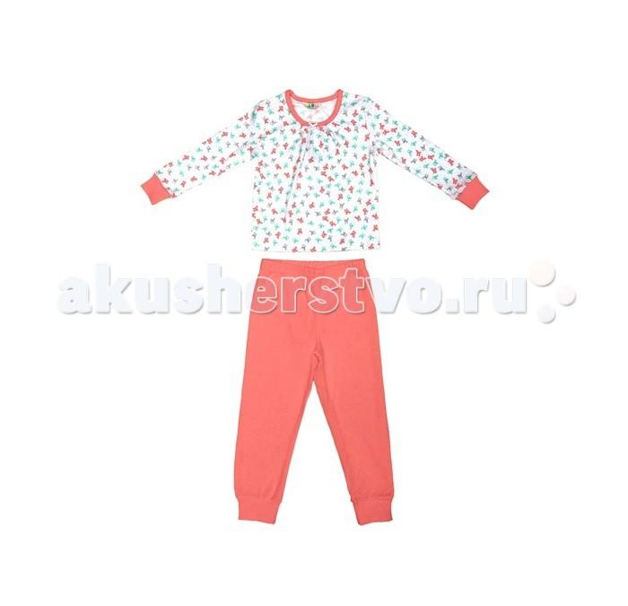Детская одежда , Пижамы и ночные сорочки Axiome De Mode Пижама Оленята и динозавры 17-8604 арт: 446449 -  Пижамы и ночные сорочки