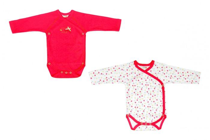 Детская одежда , Боди и песочники Axiome De Mode Боди-конверт Фантазии 2 шт. арт: 339160 -  Боди и песочники
