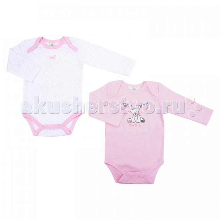 Детская одежда , Боди и песочники Axiome De Mode Боди Нежность 2 шт. арт: 338815 -  Боди и песочники