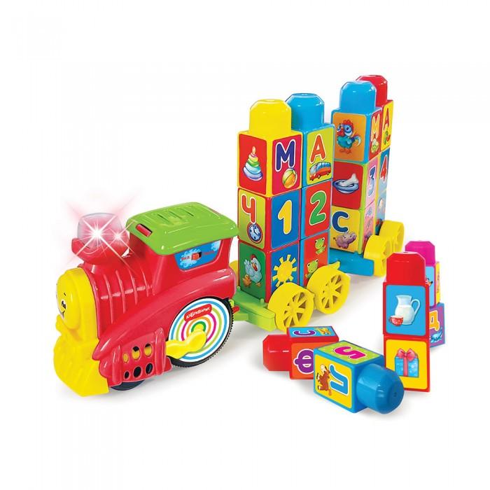 Развивающие игрушки Азбукварик Музыкальный поезд Буковка азбукварик игрушка развивающая азбукварик музыкальный паровозик желтый