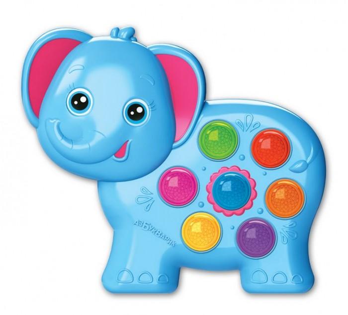 Электронные игрушки Азбукварик Веселушки Электронная музыкальная игрушка Слоненок азбукварик игрушка азбукварик мишка веселушки