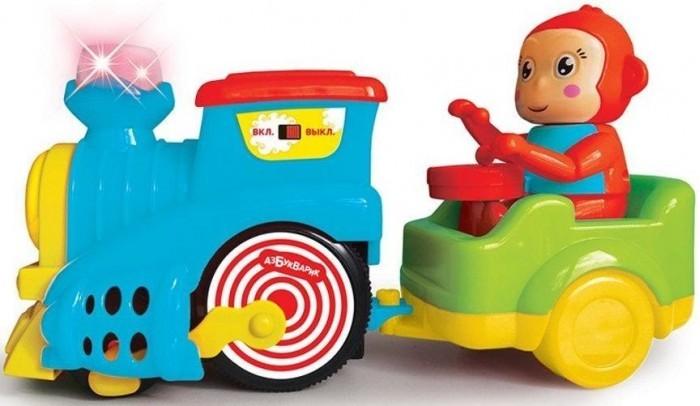 Картинка для Развивающие игрушки Азбукварик Веселый паровозик
