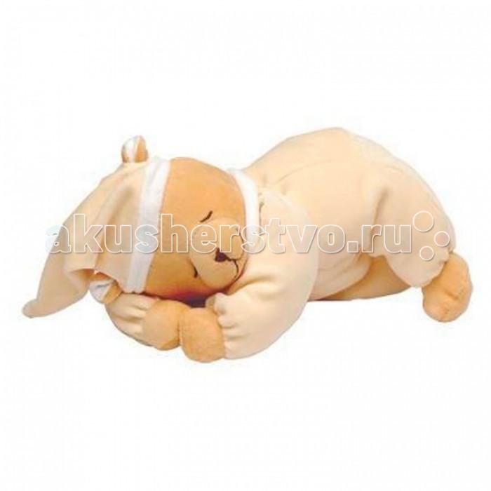 Комфортер Babiage Мишка Doodoo спящийМишка Doodoo спящийBabiage Мишка Doodoo спящий  Мишка Babiage Doodoo - это не просто обычная плюшевая игрушка. Такая игрушка поможет вам и вашему малышу с первых дней жизни высыпаться в полной мере. Материалы и детали игрушки полностью соответствуют всем требованиям безопасности.  Особенности: в игрушке расположен звуковой модуль, который издает мелодии колыбельных и звуки, имитирующие те, которые малыш слышал находясь еще в утробе матери  глаза и нос мишки вышиты, поэтому исключен риск того, что малыш что-то оторвет и проглотит;  в аудиосистему встроены сенсорные датчики, которые срабатывают на малейшее движение малыша, и звуки начинают воспроизводиться вновь; на лапках у медведя имеются мягкие липучки, с помощью которых его можно подвесить к элементам кроватки; мишка выполнен из гипоаллергенного плюша.  Рекомендации по уходу и использованию: рекомендуется использовать с первых дней жизни; игрушку можно стирать при температуре 30 градусов, вынув предварительно аудиосистему; аудиосистему можно использовать отдельно от игрушки, располагая ее при этом вне зоны досягаемости ребенка.  Высота игрушки в сидячем положении: 20 см<br>
