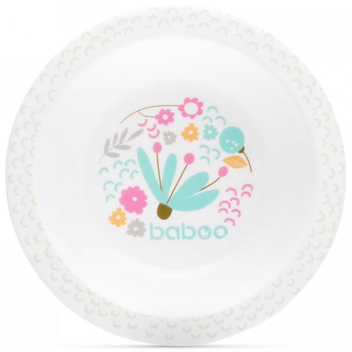 Фото - Посуда Baboo Тарелка глубокая Flora 6+ мес. поильник baboo flora 8 104 розовый