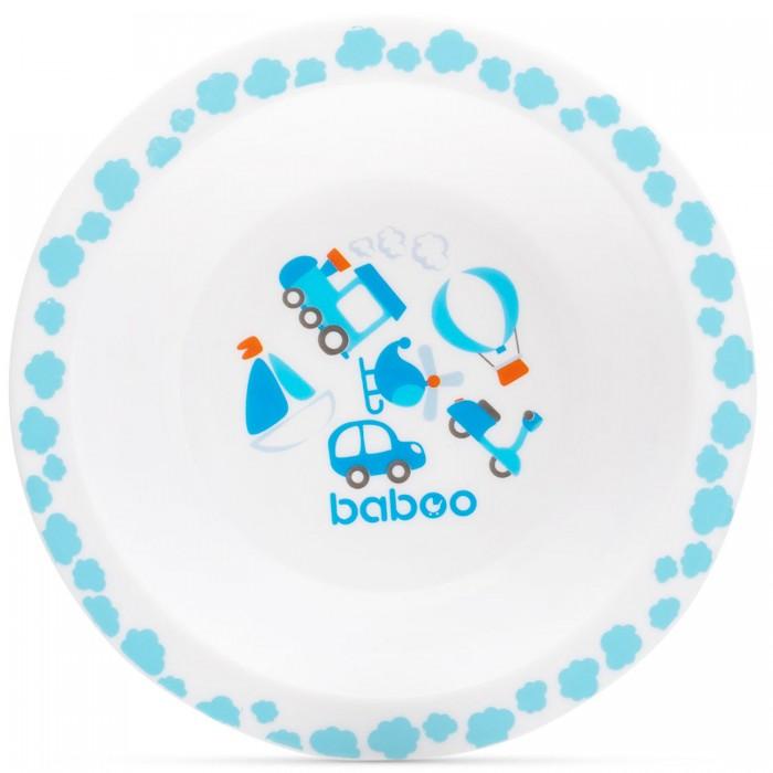 Посуда Baboo Тарелка глубокая Transport 6+ мес. baboo набор baboo transport вилка и ложка 4 мес голубой
