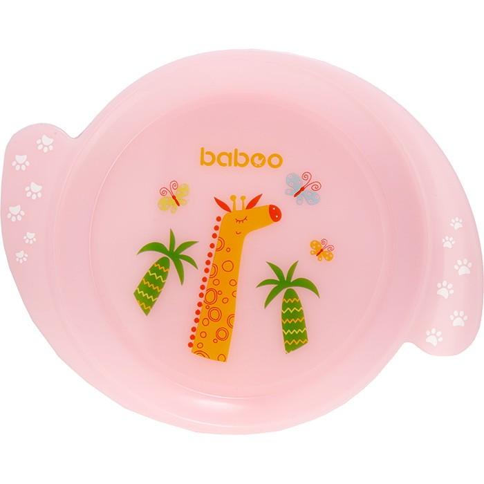 Посуда Baboo Тарелка Love Story Giraffe 6+ мес.