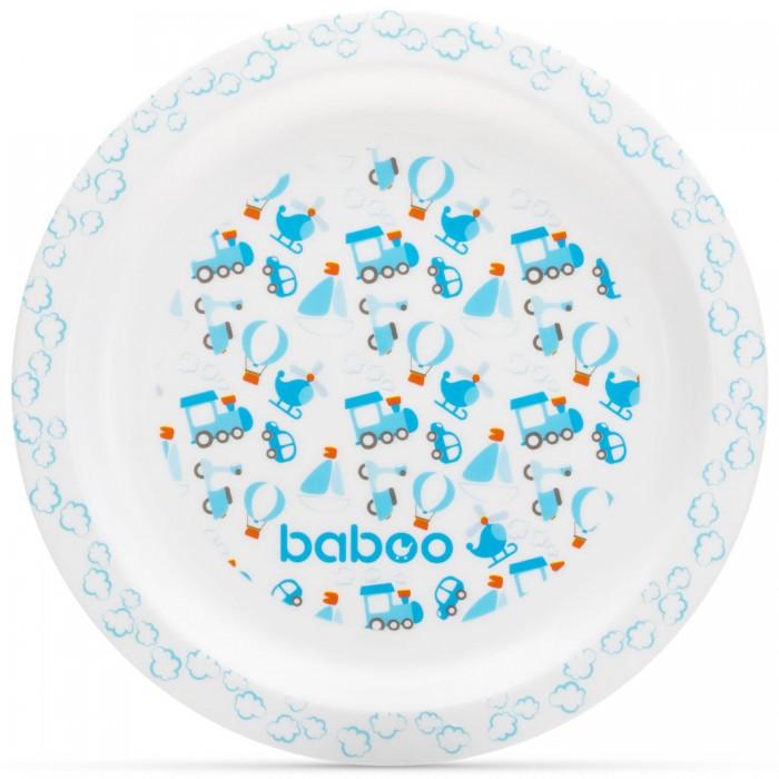Посуда Baboo Тарелка Transport 6+ мес. baboo набор baboo transport вилка и ложка 4 мес голубой