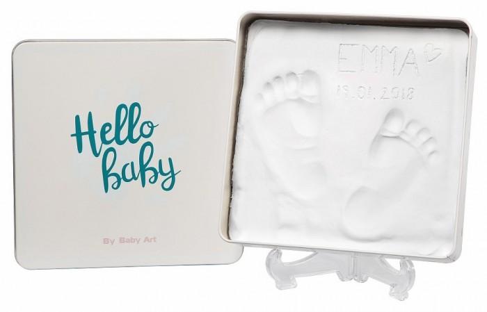 Декорирование Baby Art Коробочка для создания детского отпечатка Мэджик бокс квадратная 16.7х16.5 см