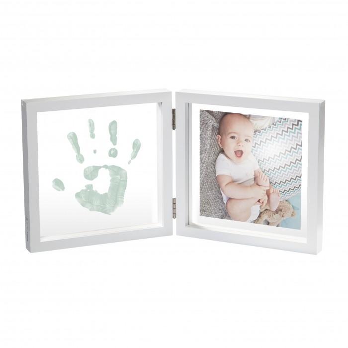 Baby Art Рамочка двойная прозрачная Baby Style с отпечатком краской от Baby Art