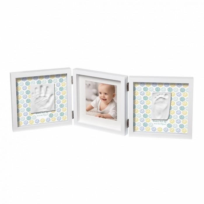 Картинка для Baby Art Рамочка тройная Baby Style с цветными двусторонними подложками