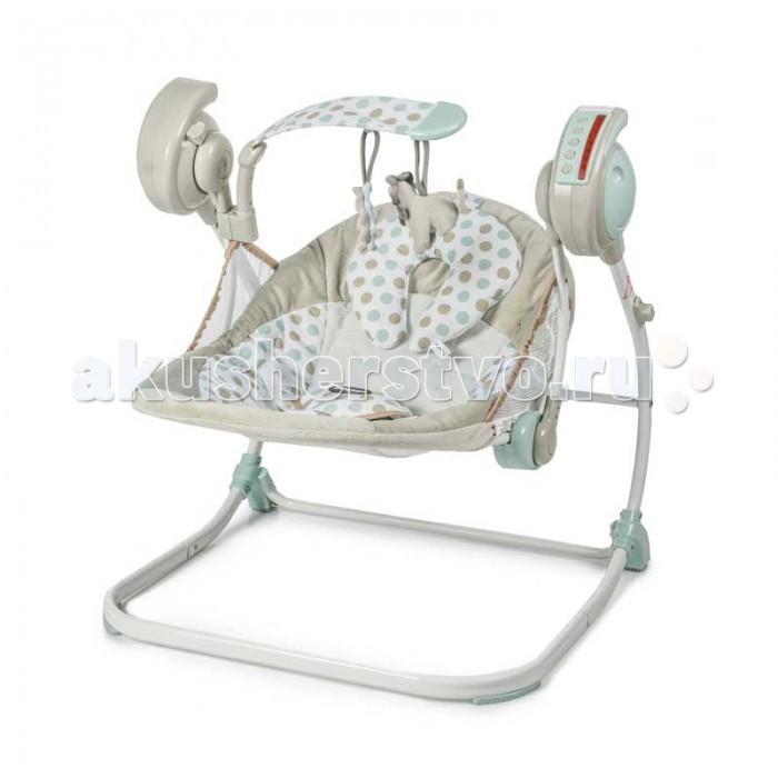 Электронные качели Baby Care Flotter с адаптером baby care электрокачели butterfly 2 в 1 с адаптером baby care латте