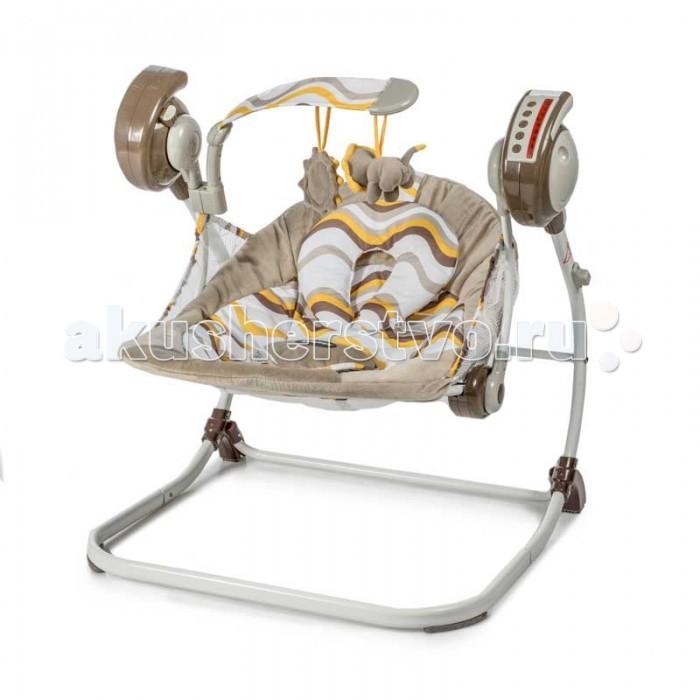 Детская мебель , Электронные качели Baby Care Flotter с адаптером арт: 274576 -  Электронные качели