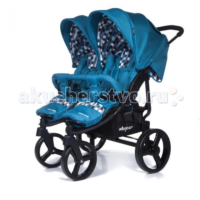 Baby Care Коляска для двойни Cruze DuoКоляска для двойни Cruze DuoКоляска Baby Care Cruze Duo представляет собой прогулочную коляску для двух малышей.  Особенности: Регулируемая подножка обеспечит дополнительный комфорт. Маленькие пассажиры могут сидеть рядом друг с другом. Спинка с плавно регулируемым наклоном. Пять положений наклона спинки вплоть до лежачего. Облегченная алюминиевая рама. Большие полиуритановые колеса обеспечивают повышенную проходимость. Плавающие передние колеса с фиксацией. Теплый чехол на ноги. Съемный мягкий бампер. 5-точечные ремни безопасности. Большая корзина для покупок. Легко и компактно складывается. Большой капюшон с окошком опускается до бампера. Удобно для транспортировки и хранения. Коляска комплектуется: чехлом на ноги, дождевиком  Размеры: Диаметр 2-х передних колес: 22 см Диаметр 2-х задних колес: 29 см Ширина колесной базы спереди: 40 см Ширина колесной базы сзади: 80 см Длина колесной базы: 75 см Длина спального места: 78 см Ширина сидения: 32 см Длина сидения: 30 см Вес: 17,05 кг Вес с упаковкой: 18,96 кг Рекомендована от 6 месяцев до 4 лет (18 кг.).<br>