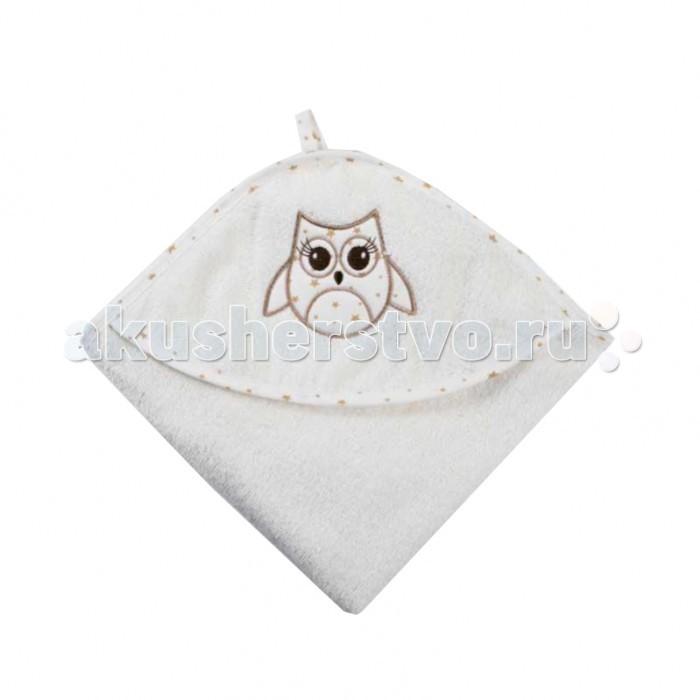 Полотенца Baby Care Полотенце уголок махровое Сова 80х80 см